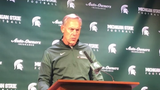 Michigan State coach Mark Dantonio on Tuesday lookd ahead to the Spartans traveling to take on Wisconsin.