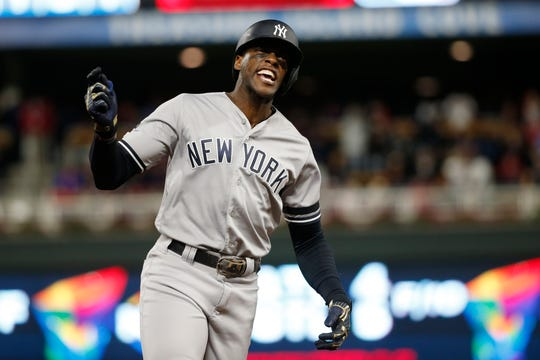 Cameron Maybin sparked a lighthearted Twitter war with Randy Dobnak on Tuesday morning.