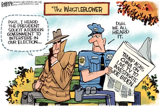 The whistle-blower's complaint.