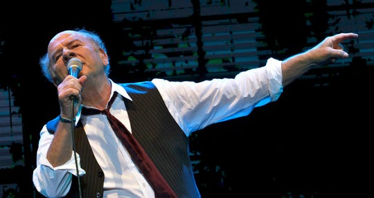 Art Garfunkel performs at Bloomfield Stadium in the Israeli city of Tel Aviv in 2015. He's coming to the Meyer Theatre in Green Bay on May 21.