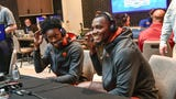 Clemson basketball coach and players tell ACC media how they cherish their roles