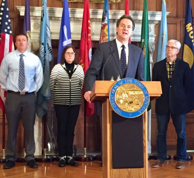 Gov. Steve Bullock announces 120-day ban on flavored vaping products.