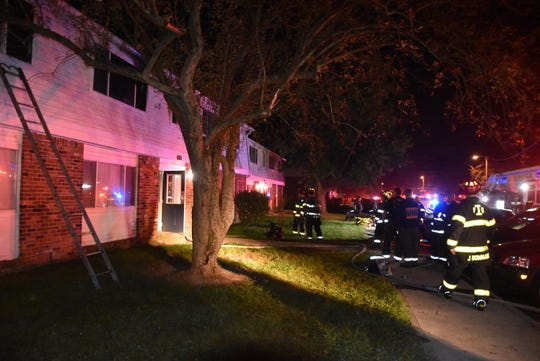 Indianapolis Fire Department emergency crews responded to a report of a fire at the  Cumberland Manor Apartments near 10th Street and North Cumberland Road around 2:30 a.m. Tuesday.