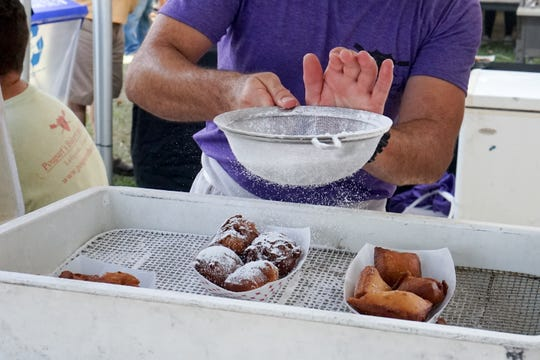 Lafayette, LA's annual Festivals Acadiens et Creoles, held in Girouard Park.