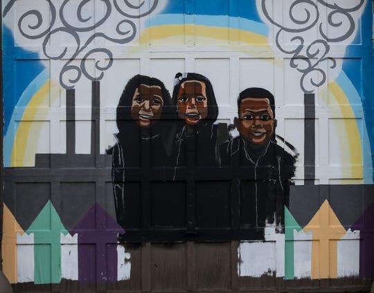 A mural 702 Logan St.   Oct. 7, 2019.