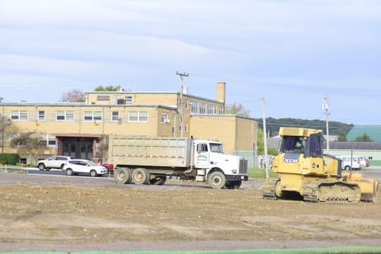 The new Friendly House parking lot is expected to be completed by the middle of November.