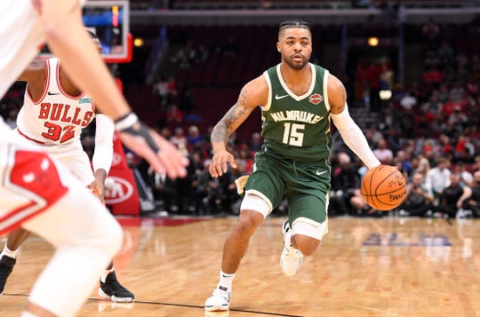 Frank Mason will be a key contributor as a two-way player for the Milwaukee Bucks and Wisconsin Herd.