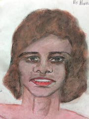 A image drawn by confessed serial killer Samuel Little shows what a woman he says he killed in Monroe may have looked like.