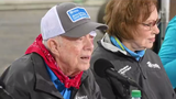 """""""One of the best ways to practice my faith ... is to participate in Habitat projects,"""" former President Jimmy Carter said."""
