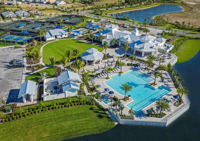 Pulte's Greyhawk at Golf Club of the Everglades is a 500-acre luxury lifestyle community located off Vanderbilt Beach Road.
