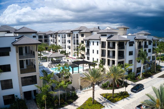 Just two unfurnished penthouse residences remain available in Building III at Naples Square, a community being developed by The Ronto Group at 5th Avenue South and Goodlette-Frank Road.
