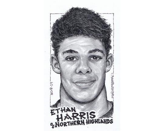 Ethan Harris, Northern Highlands football
