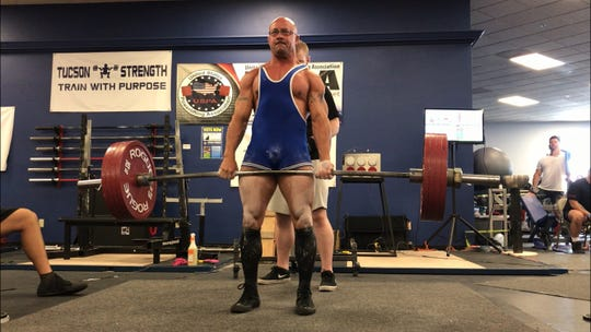Kirtland Central High athletic trainer Darrel Dryden will compete in the International Powerlifting League World Championships on Oct. 19 in Leipzig, Germany.
