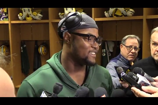 Packers rookie outside linebacker Rashan Gary discusses his personal development and the production of leaders Za'Darius and Preston Smith.
