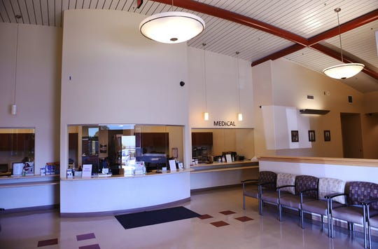 The lobby for the Central Valley Indian Health, Inc. clinic, shown Monday, Set. 30, 2019 in Clovis.
