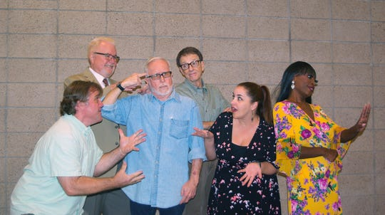 """Staged reading """"Battle of the Exes"""" is a fast-paced comedy written by Palm Springs resident Jason Hull."""
