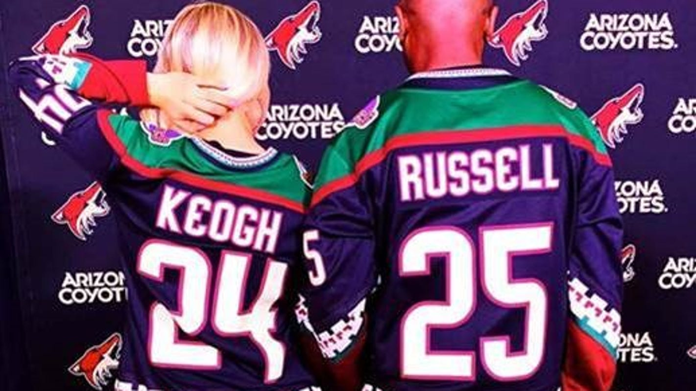 I never knew hockey was for black guys like me. That is, until I met J Russell