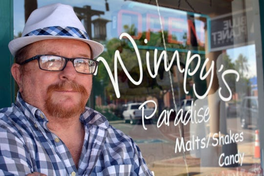 Wimpy's Paradise owner Randy Walters outside of his restaurant in downtown Chandler in 2017.