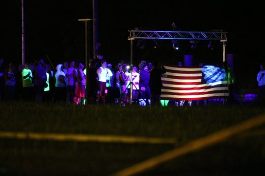 """Black Swamp Runner hosted its 7th annual """"Night of the Dead"""" mud run at the Ottawa County Fairgrounds on Saturday."""