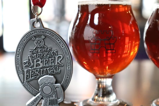 King's Court Brewing Company in Poughkeepsie earned a silver medal for its Frogs Like Possum beer, an Imperial Red India Pale Ale.