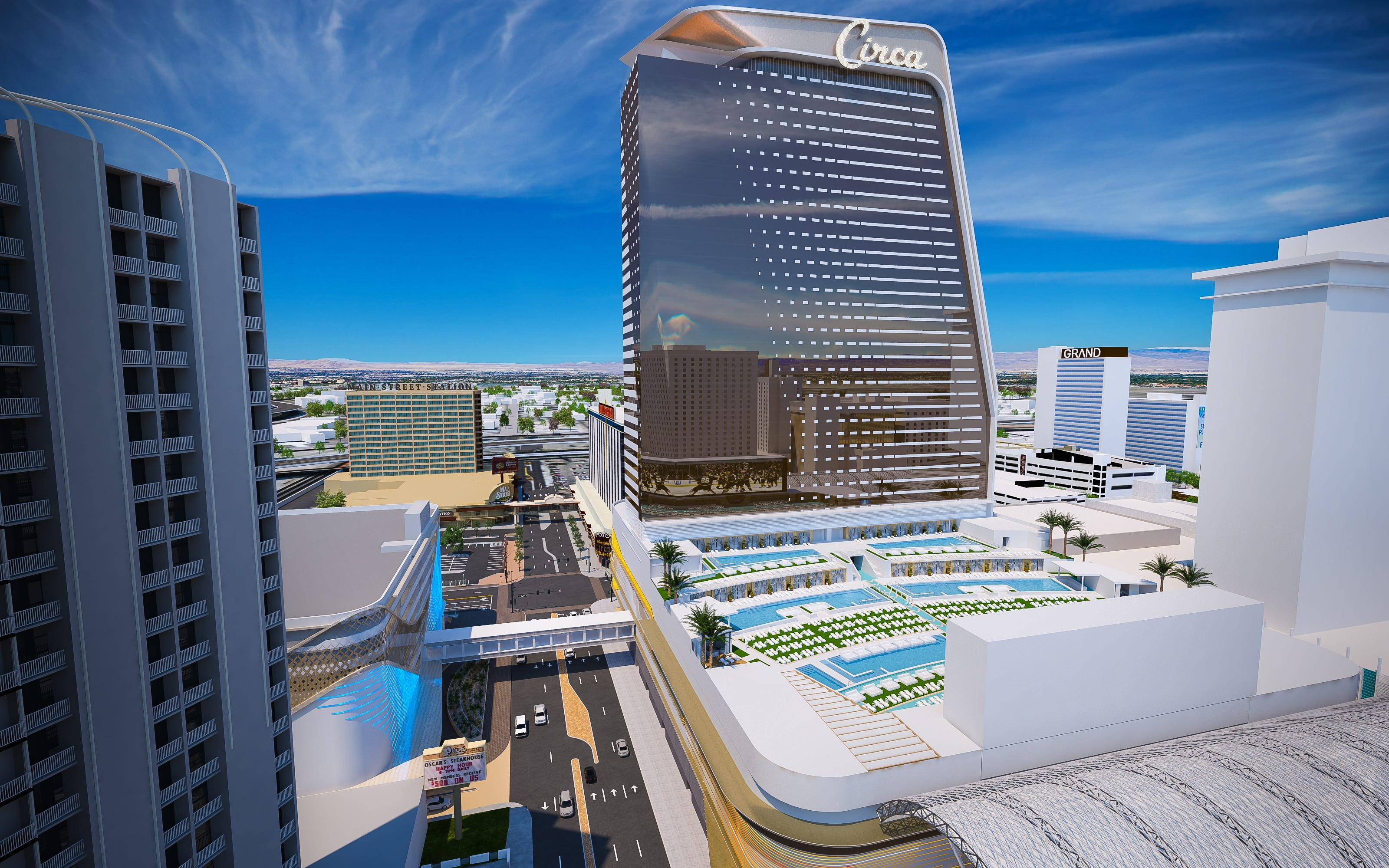 Year-round Las Vegas resort pool aims to be 'the greatest pool in the history of the world'