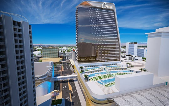 Slated for a 2020 opening in downtown Las Vegas, Circa will feature 511 rooms and suites.