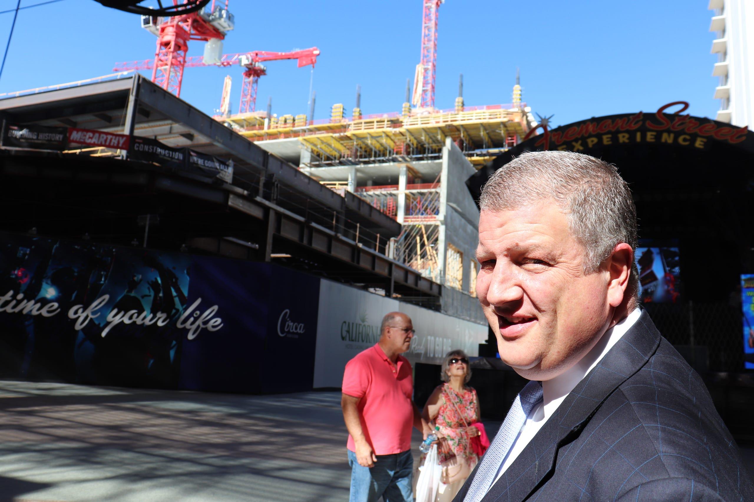 Derek Stevens, owner of the forthcoming Circa Casino & Resort.