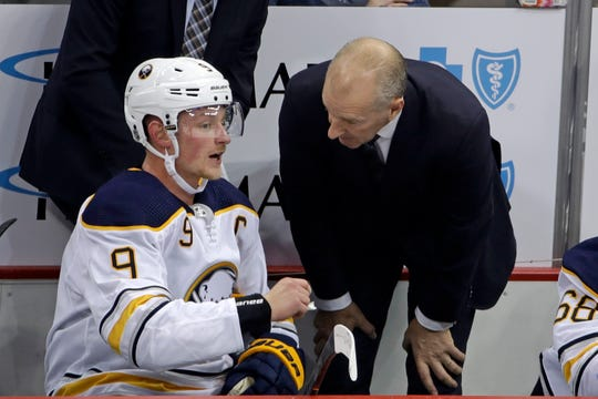 Jack Eichel is still hopeful that the final 13 games of the season can be resumed so the team can continue building the culture coach Ralph Krueger wants. But he's bracing for news the rest of the season will be canceled.
