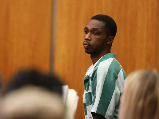 Keith Williams, 28, of Rochester was arraigned in city court on attempted aggravated murder and aggravated assault of a police officer, felonies. He is accused of stabbing Rochester police officer Dennison Wright several times.