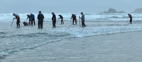 The entire Oregon coast opened to razor clamming as of Oct. 4, but the best tides for the rest of 2019 are fairly far off, so be sure it's still open before you go.