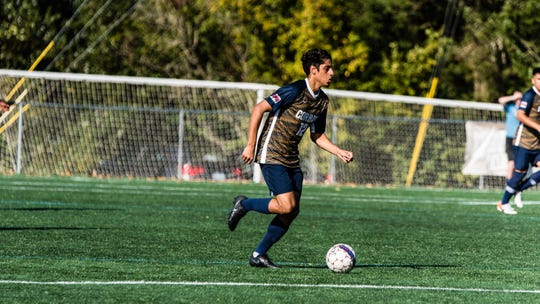 Matheus Giron scored three goals including two game winners over the weekend for Corban.