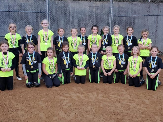 The 8u first and second place teams in Churchville, Champions are the Monsters and Infinity.
