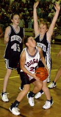 Stuarts Draft's Sarah Wade, seen here in a photo from 2002, was inducted into the school's hall of fame.