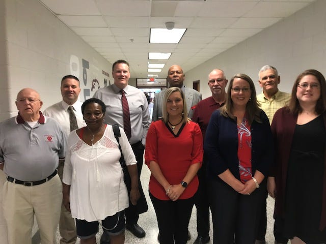 "Stuarts Draft High School inducted 11 new members into its athletic hall of fame on Saturday. In the Class of 2019 are John Forbes, Shawn Baska, Pamela Wells Goins, Tommy Taylor, Sarah Wade, Jeffrie Williams, Dennis Hatter, Julie King Maxwell, Orvin ""Tinker"" Kiser and Jessica Bridge Chittams. Unable to attend was Richard Miller"