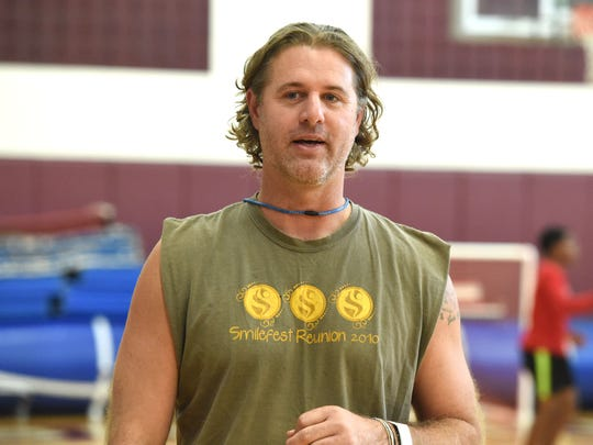 Ryan Blosser played Division 1 basketball before giving up the sport and moving to Hawaii. At the time he didn't want anything to do with the sport, but now he's found a new love for basketball.