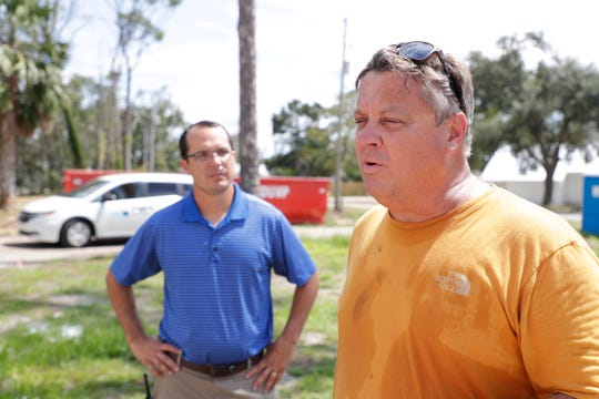 Gulf County Schools Superintendent Jim Norton talks about the impacts of Hurricane Michael on the county, the school district and the students one year after the storm Monday, Sept. 15, 2019.