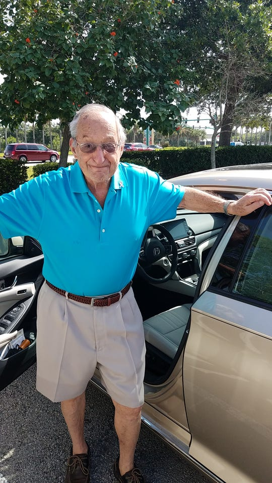 """Richard """"Dick""""Steinberg has been a driver for the American Cancer Society's  Road To Recovery program for about 10 years. During that time, he has provided more than 700 rides to treatment for cancer patients, mostly in the St. Lucie and Martin County areas."""