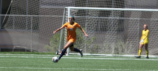 Nicole Pugsley is a defender and center midfielder for the UTEP soccer team
