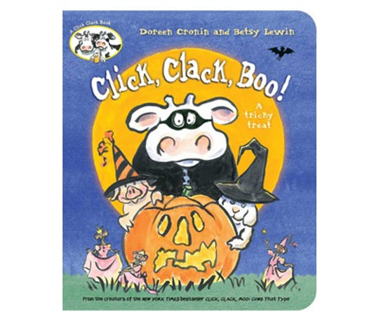 Click, Clack, Boo! by Doreen Cronin, illustrated by Betsy Lewin
