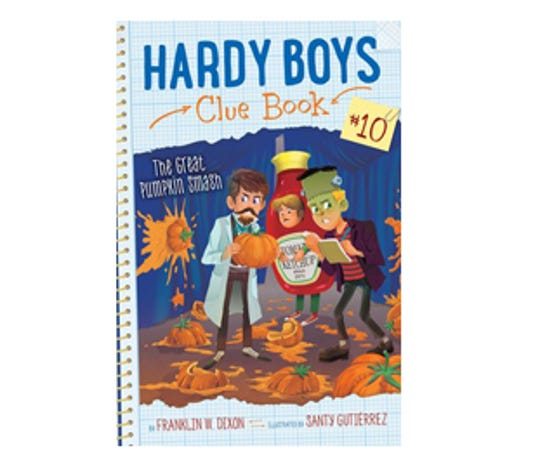 Hardy Boys Clue Book #10: The Great Pumpkin Smash by Franklin W. Dixon, illustrated by Santy Gutierrez