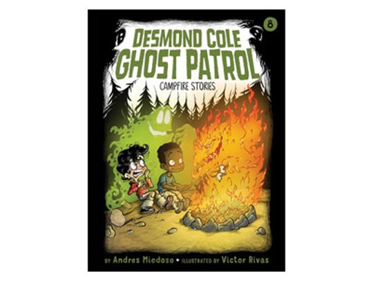 Desmond Cole Ghost Patrol: Campfire Stories by Andres Miedoso, illustrated by Victor Rivas