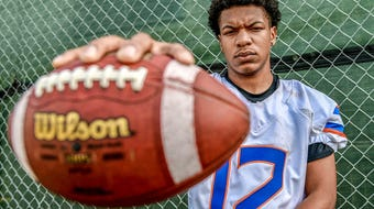 Millville's Vonzell Rivera is the South Jersey Football Player of the Week. Rivera had a pair of fumble recoveries and a key interception against Cherokee on Friday night.