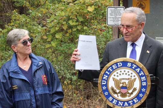 U.S. Senator Charles Schumer calls on the Environmental Protection Agency to add the Kent Arsenic Mine to their final National Priorities List.