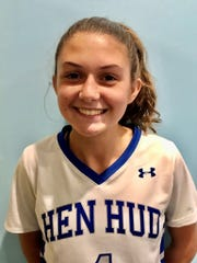 Hen Hud captain Taeghan Dapson is The Journal News/lohud Player of the Week for Sept. 30-Oct. 6, 2019.