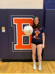 Briarcliff setter Katy Burns was voted the lohud volleyball Player of the Week on Oct. 8, 2019.