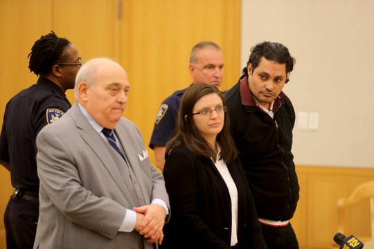 Luis Alturet-Rivera, charged with second-degree murder in the Jan. 22, 2017, shooting death of his girlfriend, Diana Casado, appeared in Westchester County Court Oct. 8, 2019 for his arraignment on charges in Casado's death.