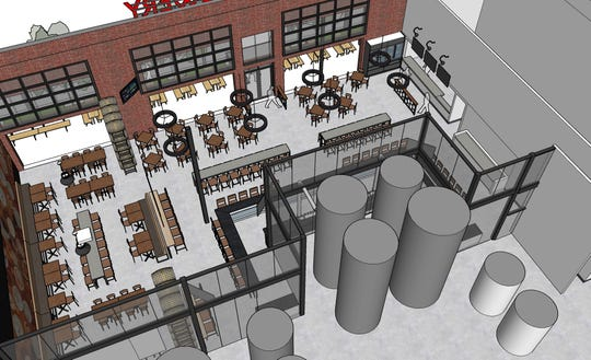 Iron Hill Brewery & Restaurant's first  full-scale production brewery will not be built in Delaware. Instead, it will open next summer in Exton, Pennsylvania.