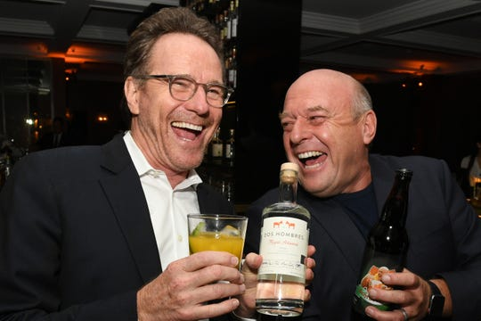"Bryan Cranston and Dean Norris attend the Premiere of Netflix's ""El Camino: A Breaking Bad Movie"" After Party."