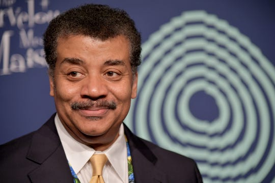 Neil deGrasse Tyson stops by talk shows to promote new book and discusses sexual misconduct allegations.