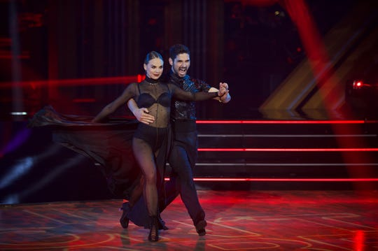 "Hannah Brown and Alan Bersten got fierce on ""Dancing with the Stars."""